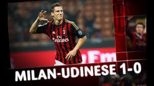 AC Milan I Milan-Udinese 1-0 Highlights - YouTube