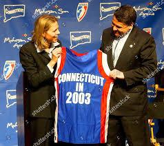 ACKERMAN BROWN WNBA League President Val Ackerman Editorial Stock Photo -  Stock Image | Shutterstock