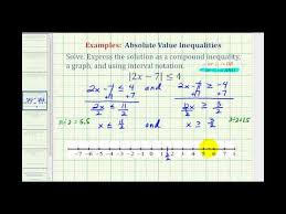 solve compound inequalities beginning