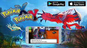 Pokemon X & Y Mobile Gameplay Android APK & IOS Download - YouTube