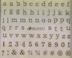 Nail Art 3d Decal Stickers Lowercase Alphabet Gold Letters Numbers Hbjy027 Ebay