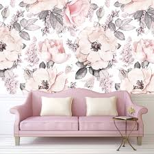 Snowy Rose Wallpaper Self Adhesive Rocky Mountain Decals