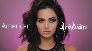 american vs arab makeup tutorial you