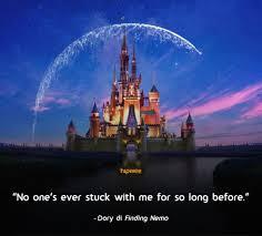 quotes pilu disney bukti bahwa hidup tidak selamanya indah