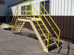 Steel Crossover Safety Platforms Corson Fabricating L L C