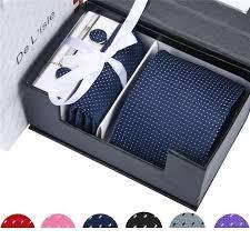 fashion necktie groom gentleman tie set