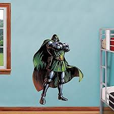 Doctor Doom Decal Removable Wall Sticker Home Decor Art Marvel Dc Comics Dr Decals Stickers Vinyl Art Home Garden Home Decor