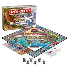 MONOPOLY®: Pokémon Johto Edition? The Johto region is located west of Kanto  and is the setting of Pokemon Gold, Silver, Crystal,… | Pokemon, Monopoly,  Monopoly game