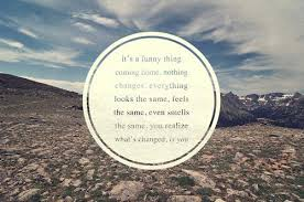 quotes about coming home from travel quotes