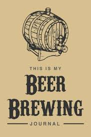 this is my beer brewing journal 6x9