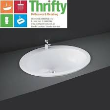 r a k cherry large inset white basin 3