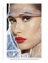 hailey baldwin vogue mexico makeup