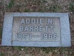Addie N Johnston Barrett (1867-1966) - Find A Grave Memorial