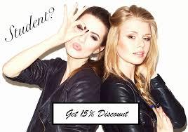 Student Discount - Adele Jones Hairdressing