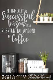 Coffee Quote Wall Decal Removable Sticker Art For Coffee Lovers Coffee Break Room Coffee Bar Decor In 2020 Custom Wall Quotes Wall Quotes Wall Quotes Decals