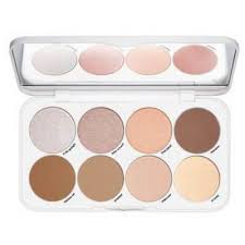 face contouring highlighting palette
