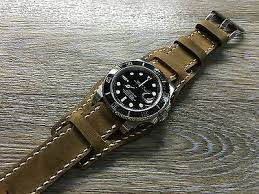 real leather cuff watch strap cuff