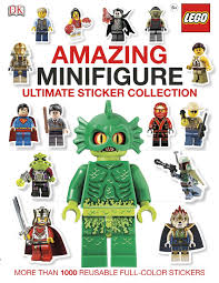 Ultimate Sticker Collection: Amazing LEGO® Minifigure: More Than 1 ...