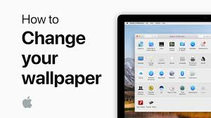 how to change the wallpaper on your mac