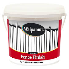Walpamur 10l White Fence Finish Bunnings Warehouse