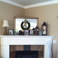 decorating a corner fireplace home