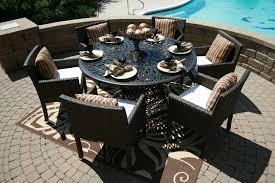 cast aluminum patio