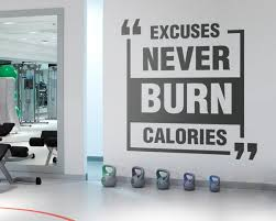 Exercise Stickers Gym Wall Decal Workout Stickers Fitness Etsy