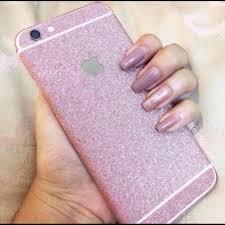 Accessories Iphone 8 Plus Rose Gold Full Cover Glitter Decal Poshmark