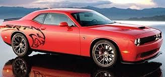 Amazon Com Dodge Challenger Hellcat Body Side Decal Mopar Automotive