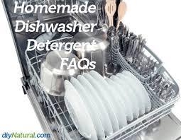 homemade dishwasher detergent soap faqs