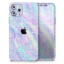 Iridescent Dahlia V3 Designskinz Protective Vinyl Decal Wrap Skin Cover Compatible With The Apple Iphone 11 Full Body Screen Trim Back Glass Skin Walmart Com Walmart Com