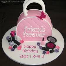 ❤️ fashion birthday cake for zeba i love u