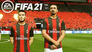 AC MILAN - INTER MILAN // Serie A 2021 FIFA 21 Gameplay PC 4K Next Gen MOD  - YouTube