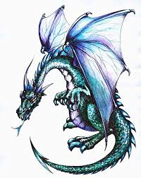 Amazon Com Wallmonkeys Dragon Wall Decal Peel And Stick Graphic Wm117867 30 In H X 23 In W Home Kitchen