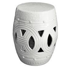 white garden stool white garden stools