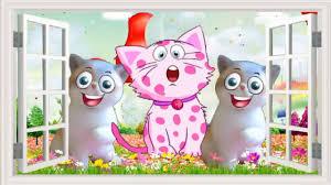 Liên Khúc nhạc Thiếu Nhi - Rửa Mặt Như Mèo +Vi Sao Con Mèo Rửa Mặt ...