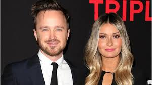 Aaron Paul And Lauren Parsekian Expecting First Child - YouTube