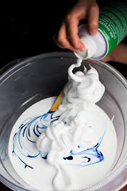 easy 3 ing fluffy slime with