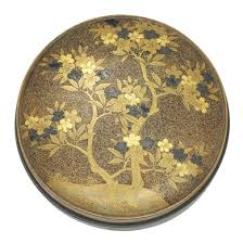 japanese mirrors and a lacquer mirror