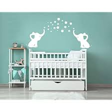 Luckkyy Elephant Family Wall Decal Removable Vinyl Wall Art Elephant Bubbles Wall Stickers Baby Nursery Wall Decor White Buy Products Online With Ubuy Lebanon In Affordable Prices B07c8c6qf4