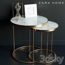3d models table coffee table zara home