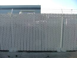 Comparing Windscreening And Slats For Chain Link Fence The American Fence Company