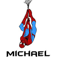 Amazon Com Custom Names Personalized Name Spider Man Super Hero Marvel Disney Wall Decals For Kids Bedroom Boys Wall Decor Vinyl Sticker Art Cartoon Characters Tv Shows Comic Hanging Web Size 20x10 Inch Home