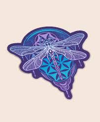 Dragonfly Sticker Dragonfly Car Decals Soul Flower