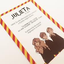 50 Invitaciones 15 Anos Carta Harry Potter Cumple Casamiento