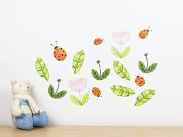Ladybug Wall Decal By In My Backyard Medium Etsy