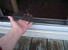how to repair a sliding screen door