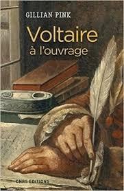 Gillian Pink : Voltaire à l'ouvrage | Livre philosophique ...