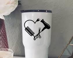 Hairdresser Decal Etsy