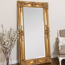 mayfair leaner mirror by selections